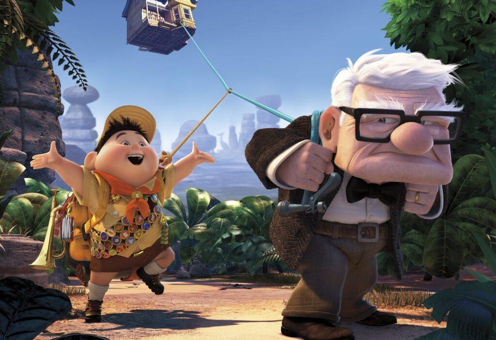 Up ปู่ซ่าบ้าพลัง เรื่องราวของบ้านลอยฟ้าที่ไปไกลกว่าที่คิด อนิเมะไทย ฉากนี้โคตรดี ANIMEไทย Pixar Upปู่ซ่าบ้าพลัง