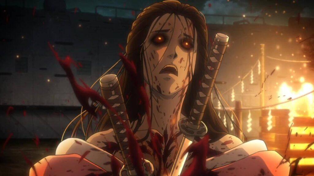 Koutetsujou no Kabaneri ซอมบี้ปราการเหล็ก บู้ล้างผลาญเลือดสาดจอ อนิเมะไทย ฉากนี้โคตรดี ANIMEไทย Netflix KoutetsujounoKabaneri