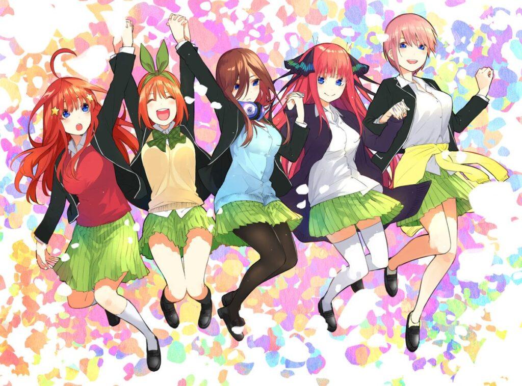 Go-Toubun no Hanayome เจ้าสาวผมเป็นแฝดห้า ฮาเร็มใส ๆ เบาสมอง อนิเมะไทย ฉากนี้โคตรดี ANIMEไทย Go-ToubunnoHanayome