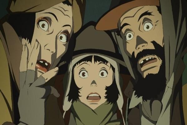 Tokyo Godfathers การผสมผสานกันระหว่างแนวดราม่าและคอมเมดี้ อนิเมะไทย ฉากนี้โคตรดี ANIMEไทย TokyoGodfathers