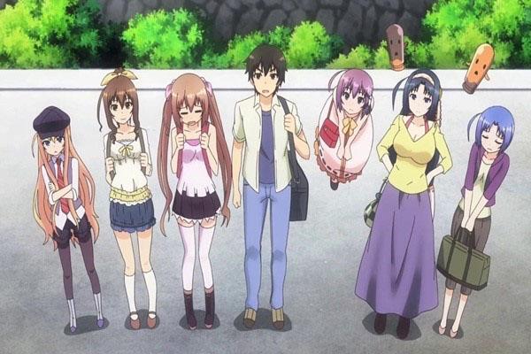 Rokujouma no Shinryakusha!? การรวมตัวกันของกลุ่มคนแปลกจนกลายเป็นฮาเร็ม อนิเมะไทย ฉากนี้โคตรดี ANIMEไทย RokujoumanoShinryakusha!?
