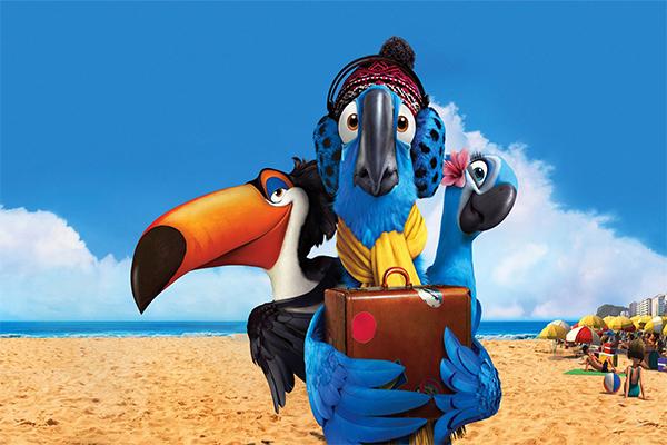 Rio นกมาคอว์สีฟ้าหายากที่หลงอยู่ในเมืองแห่งแสงสี อนิเมะไทย ฉากนี้โคตรดี ANIMEไทย Rio