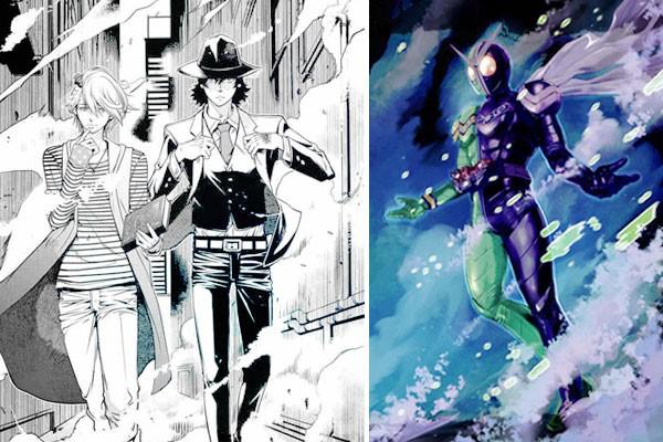 รีวิวมังงะ Next Stage of Masked Rider W คู่หูไรเดอร์ ยอดนักสืบแห่งฟูโตะ อนิเมะไทย ฉากนี้โคตรดี ANIMEไทย NextStageofMaskedRiderW