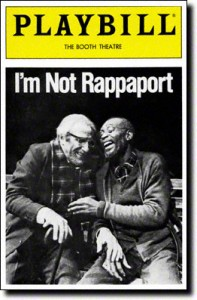 Im-Not-Rappaport-Playbill-12-85