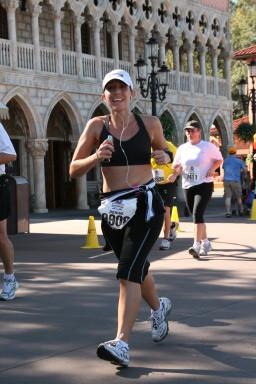 Epcot-Run DMT Disney Marathon 2009 #runDisney