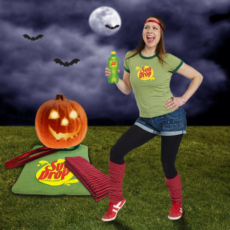 Halloween Sun Drop Girl