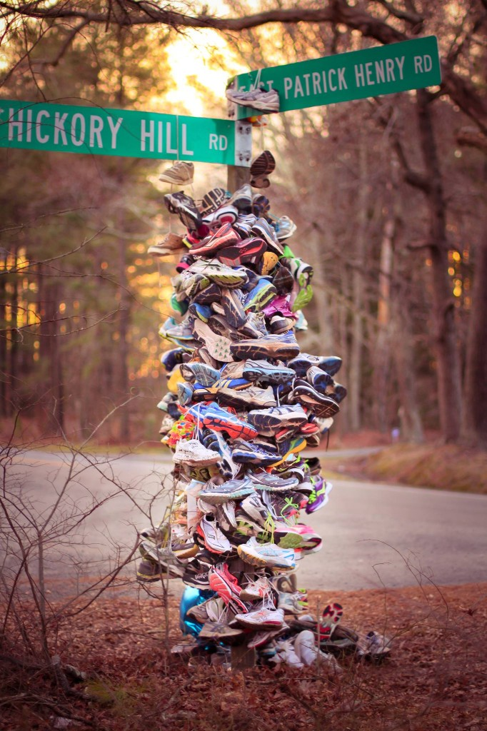 Meg's Miles Running Shoe Memorial