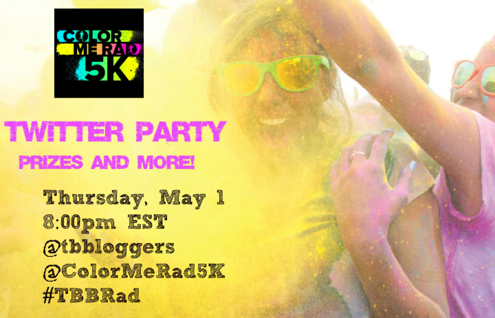 Color Me Rad TwitterParty