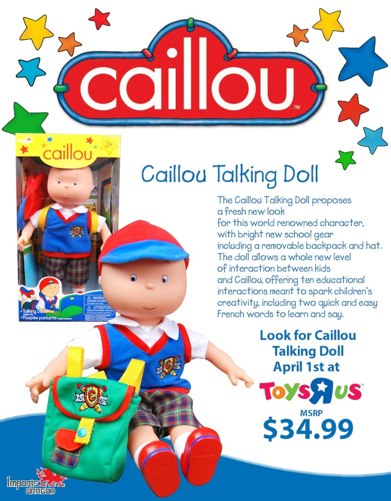 CaillouTalkingDoll