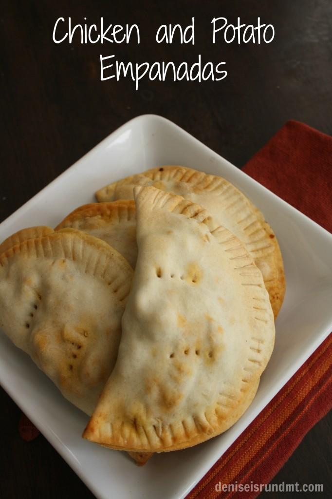 Chicken and Potato Empanadas