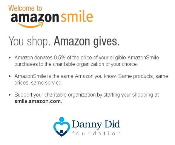 amazon smile_DannyDid