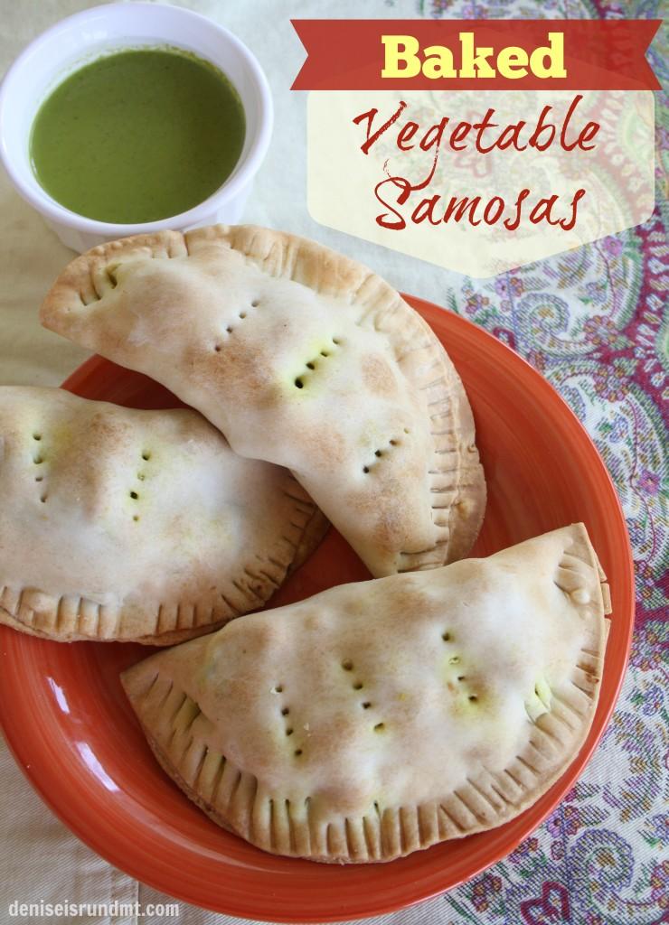 Baked Vegetable Samosas #healthy #vegetarian