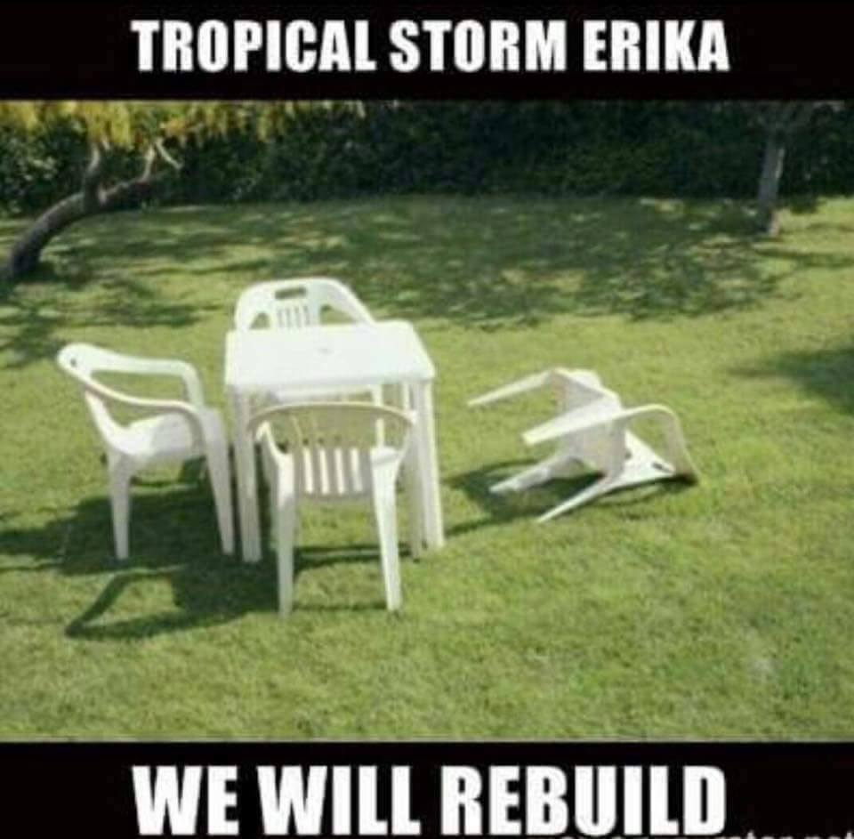 TS Erika - We will rebuild