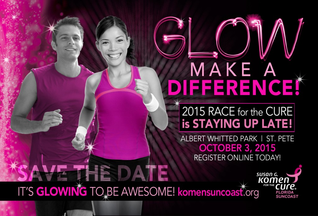 GLOW Run -Race for the Cure