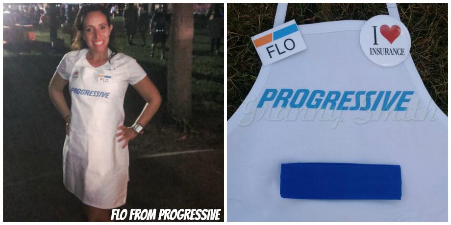 Flo Costume for Runners