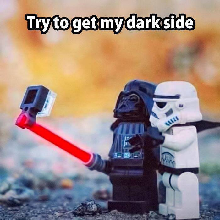 try and get my dark side