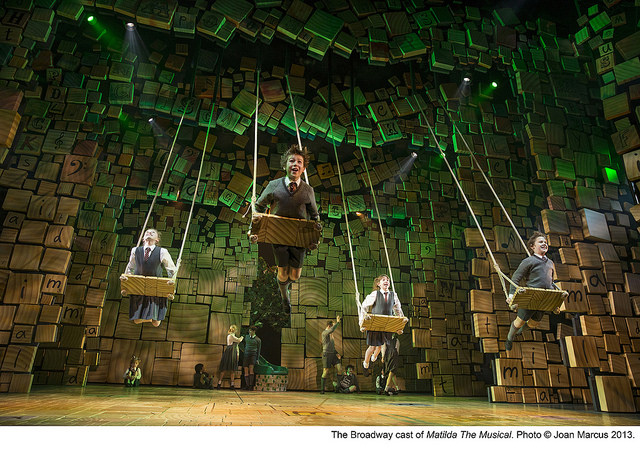 """Matilda the Musical - Swings """"When I Grow Up"""""""