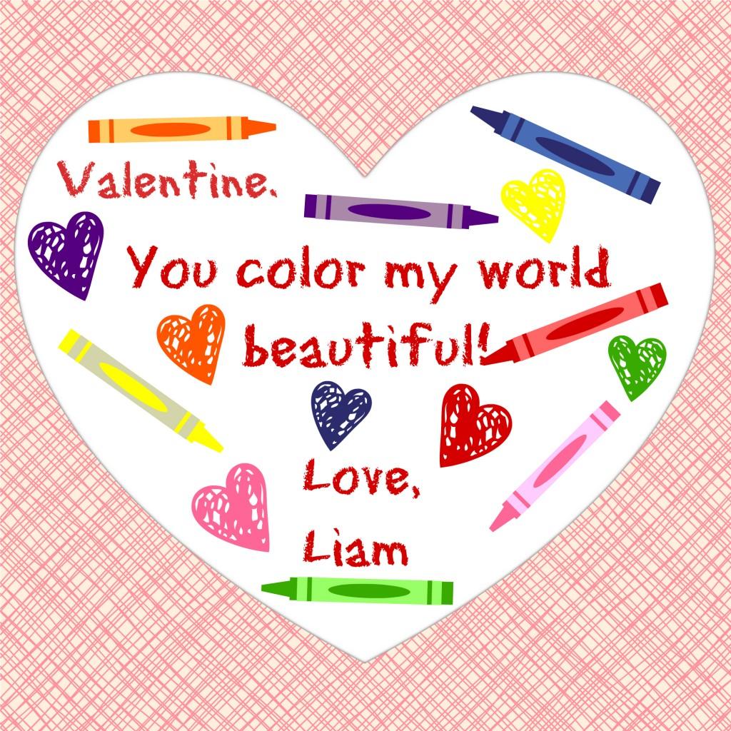 Valentine-Color