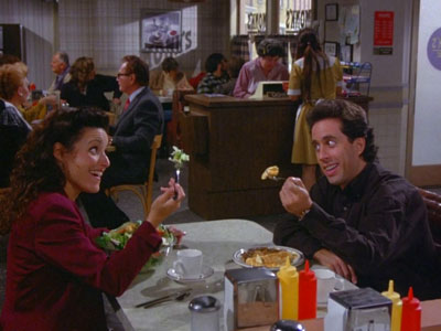 elaine -Seinfeld - The Big Salad