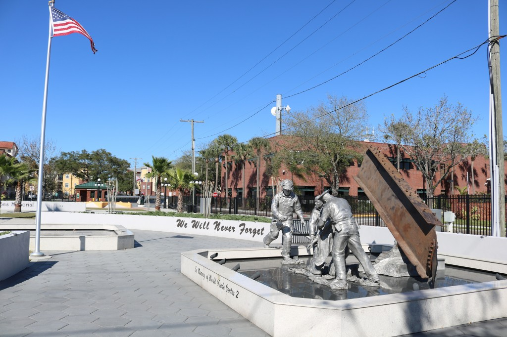 9-11 Memorial -Tribute - Ybor City Tampa