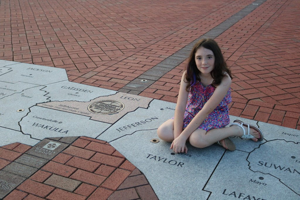 Cascades Park - Prime Meridian - Tallahassee