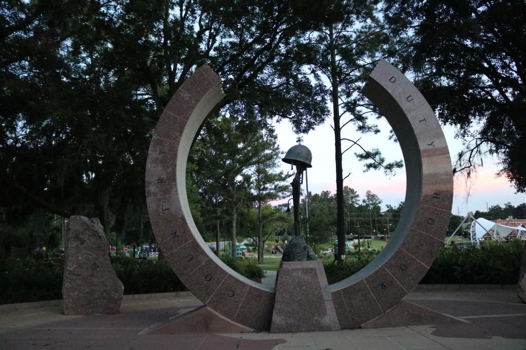 Korean War Memorial - Cascades Park