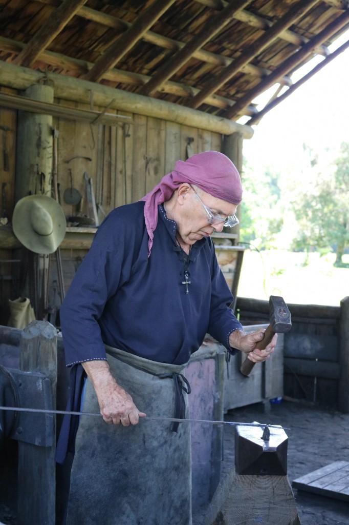 Mission San Luis - Blacksmith