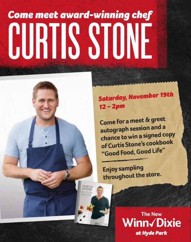 Curtis Stone - Winn Dixie Hyde Park - Tampa