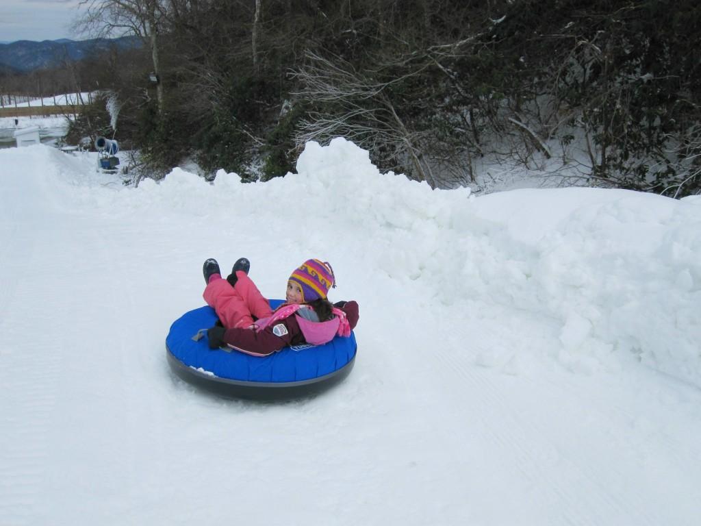 North Carolina - snow tubing