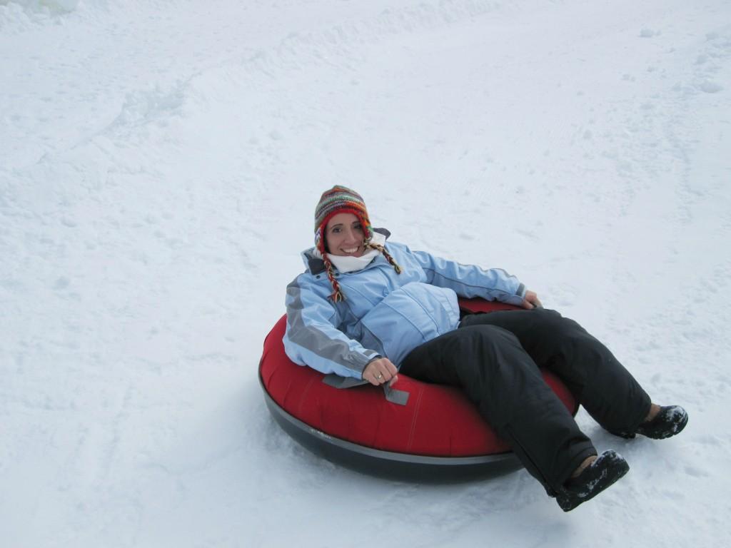 Run DMT - snow tubing