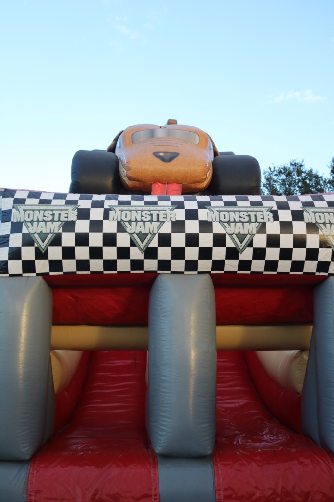 Monster Mutt Bouncy House - Party in the Pits