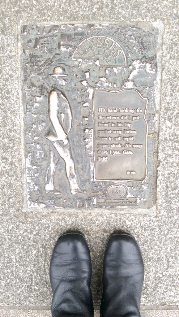 James Joyce Plaque