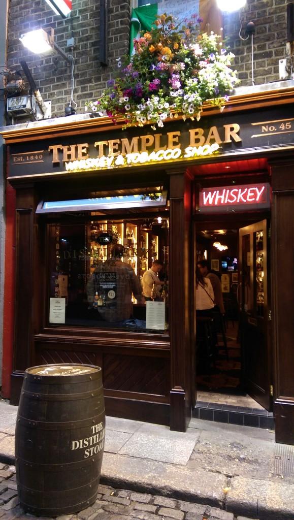 Temple Bar - Whiskey Tasting Room - Dublin