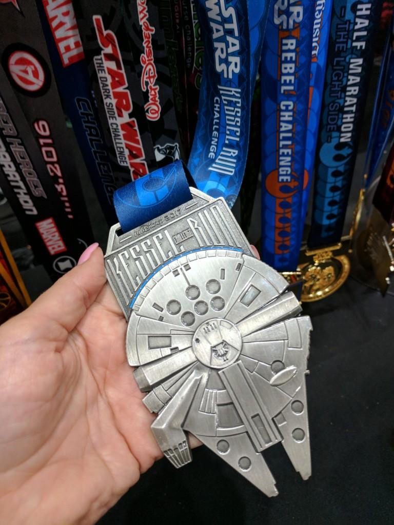 Star Wars Half Marathon - Kessel Run Challenge Medal