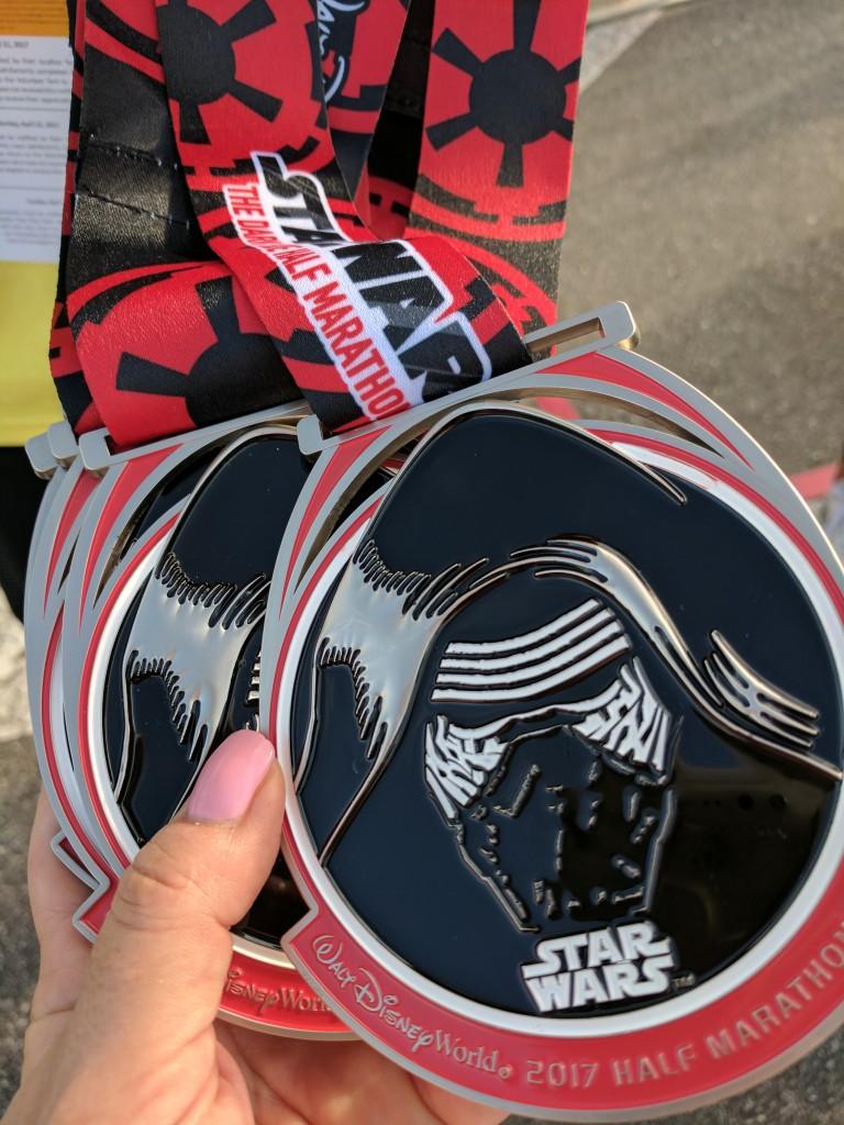 Star Wars Half Marathon - Kylo Ren Medals