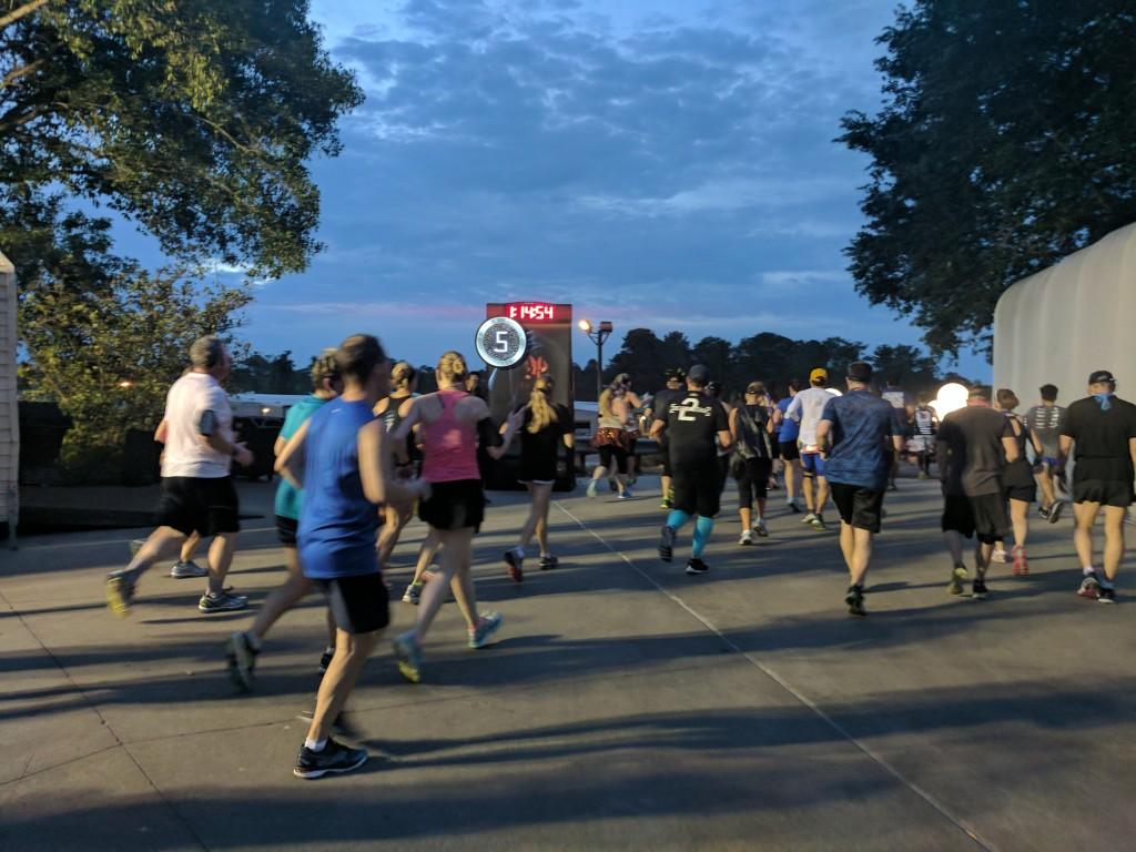 Star Wars Half Marathon - Mile 5