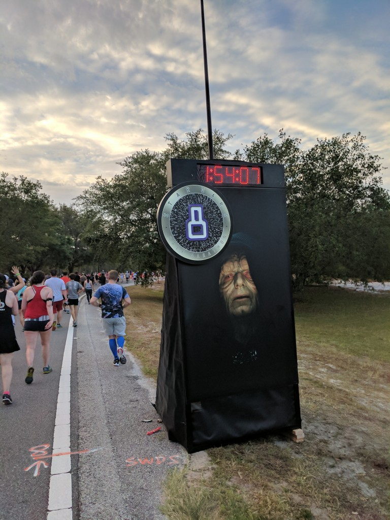 Star Wars Half Marathon - Mile 8