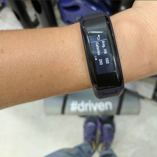 Garmin VivoSmart Fitness Tracker - Run DMT