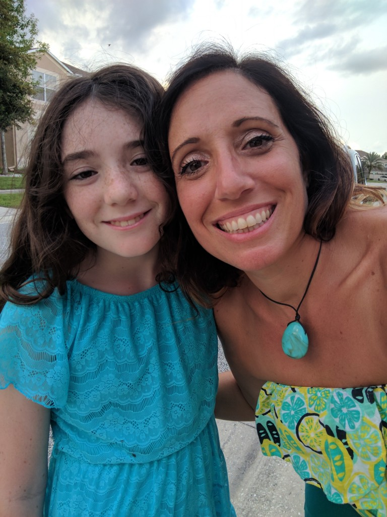 Emmalynn and Mom
