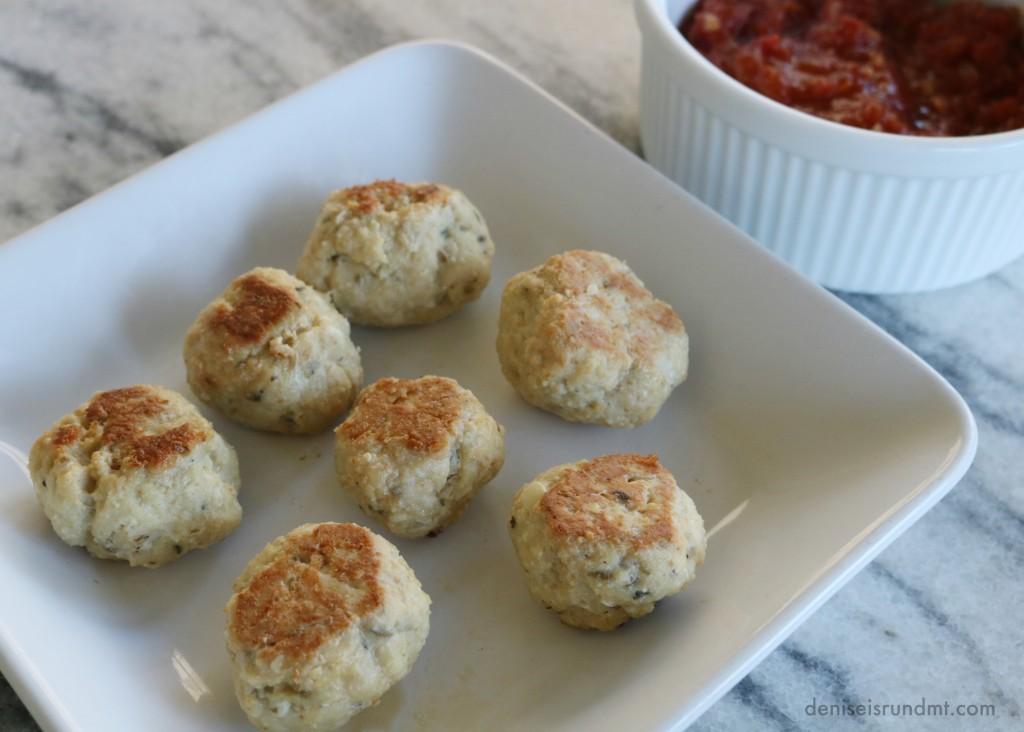 Baked Ground Turkey Meatballs- Run DMT