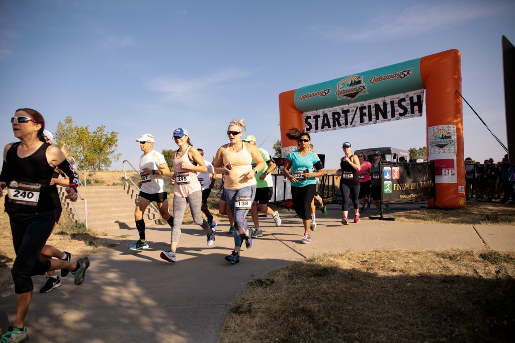 Getaway 5K Series - Finish Line
