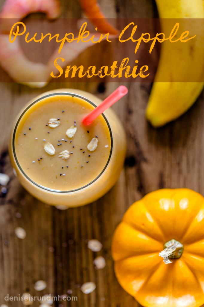 Pumpkin Apple Smoothie-Run DMT