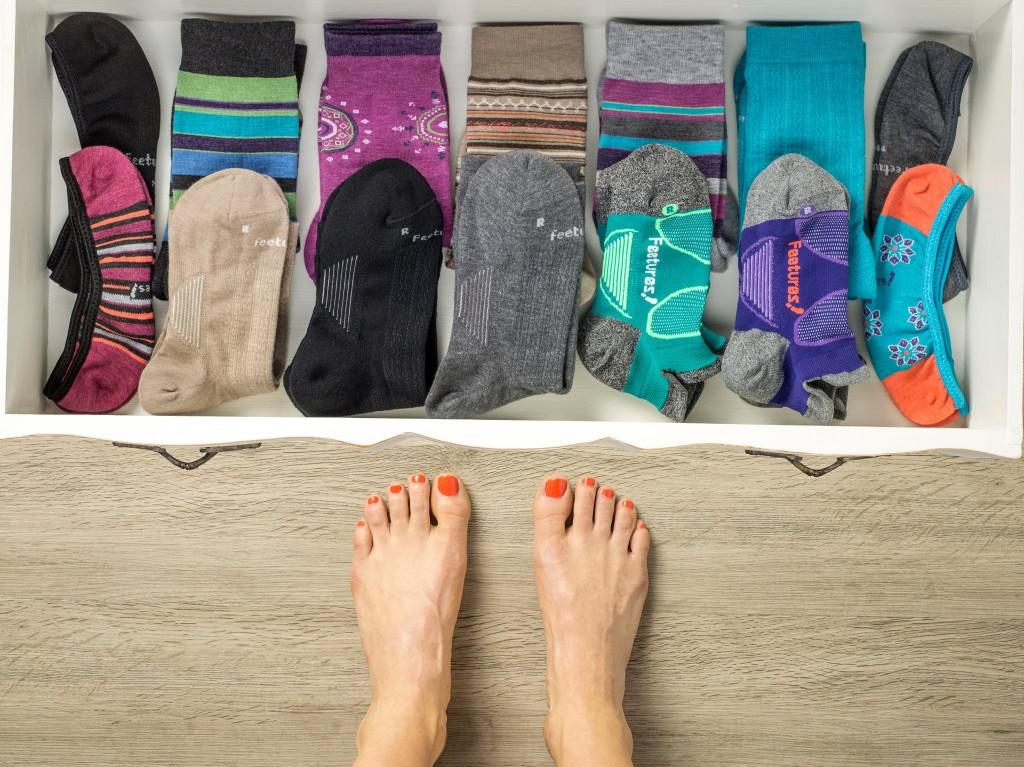 Feetures! Sock 2017 - Run DMT #ad