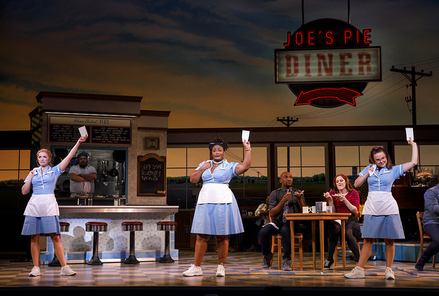 Desi Oakley, Charity Angel Dawson and Lenne Klingaman in the National Tour of WAITRESS - Photo Credit Joan