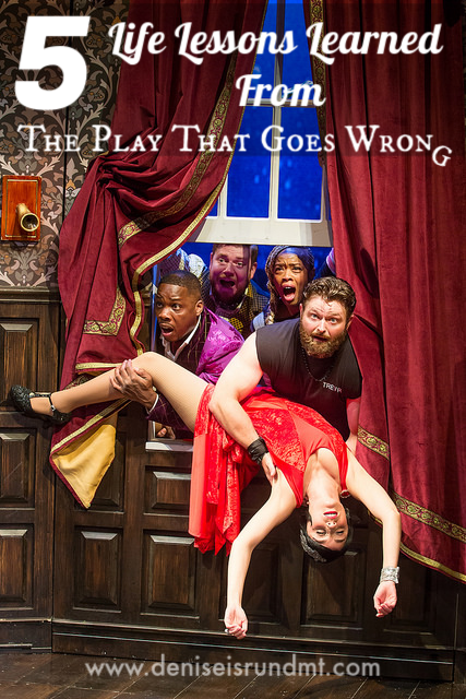 Five Lessons Learned - The Play That Goes Wrong - Run DMT