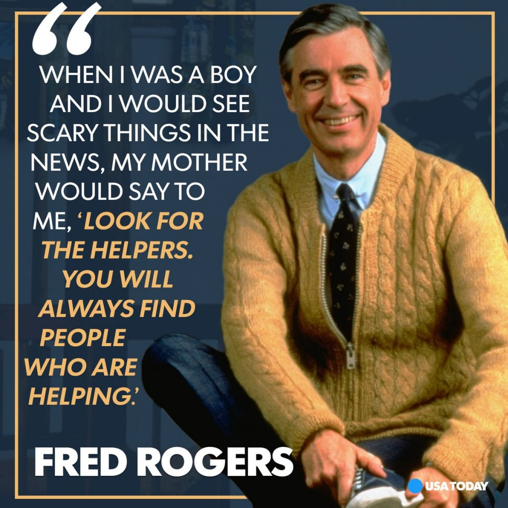 Mr. Rogers Helpers Quote