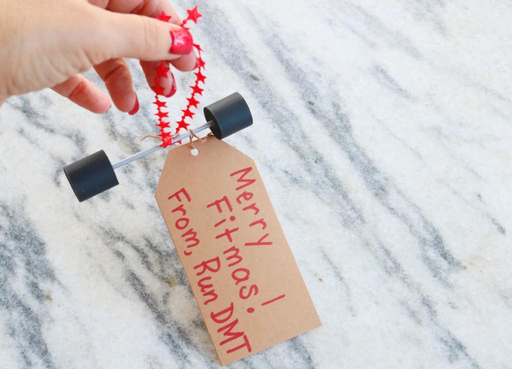 Merry Fitmas Ornament-Run DMT