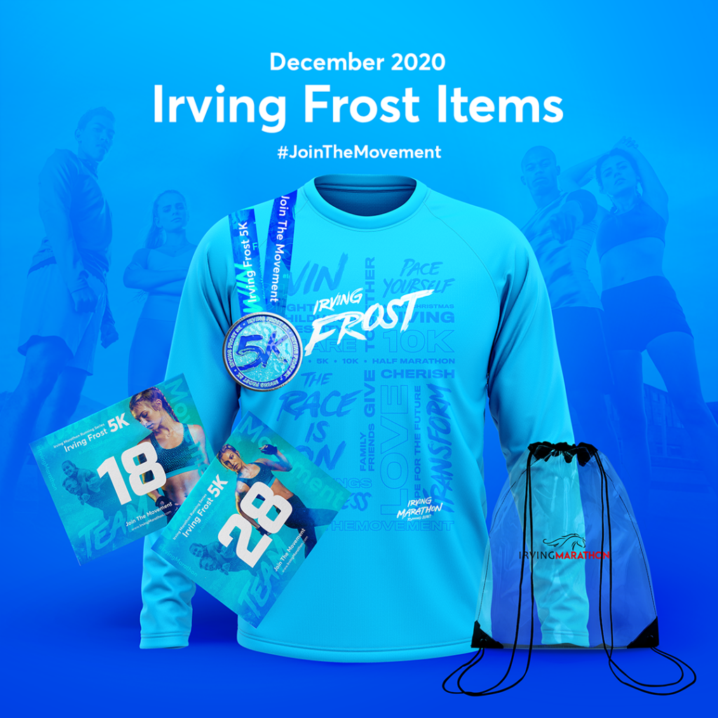 Irving Frost 5K - virtual race