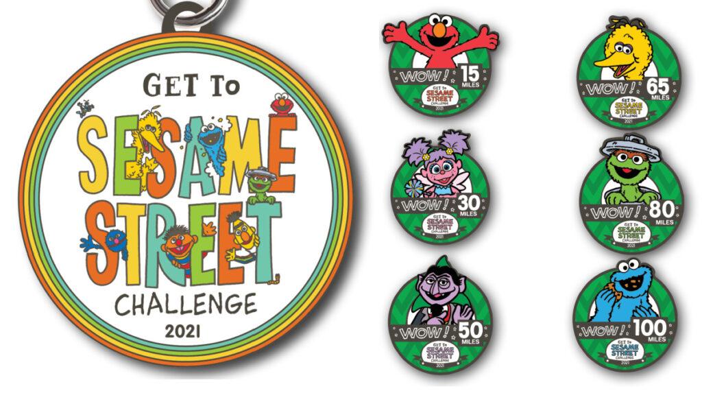 Sesame Street Running Challenge
