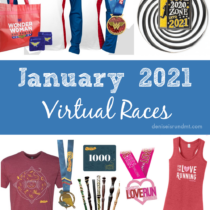 virtual races - fun runs- January 2021